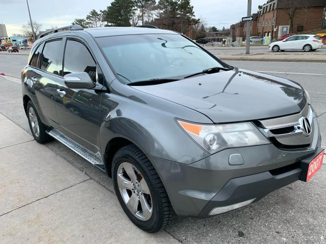 2007 Acura MDX LEATHER -SUNROOF-ROOF RACK -ALLOYS -AWD