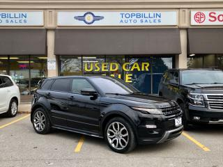 Used 2013 Land Rover Range Rover Evoque Dynamic, Fully Loaded for sale in Vaughan, ON