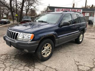 Used 2002 Jeep Grand Cherokee Laredo/Automatic/4x4/AS IS Special for sale in Scarborough, ON