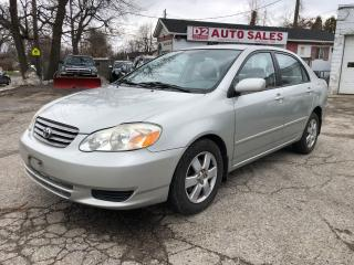 Used 2003 Toyota Corolla LE/Automatic/All Power Options/AS IS Special for sale in Scarborough, ON