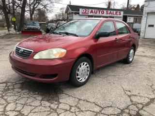 Used 2006 Toyota Corolla CE/Automatic/4 Cylinder/AS IS SPecial for sale in Scarborough, ON