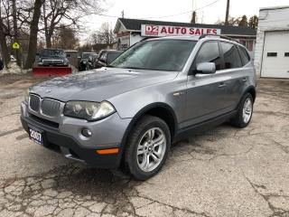 Used 2007 BMW X3 All Wheel Drive/Automatic/Leather/Roof/Certified for sale in Scarborough, ON