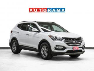 Used 2017 Hyundai Santa Fe Sport Sport 4WD Leather Pano-Roof Backup Cam for sale in Toronto, ON