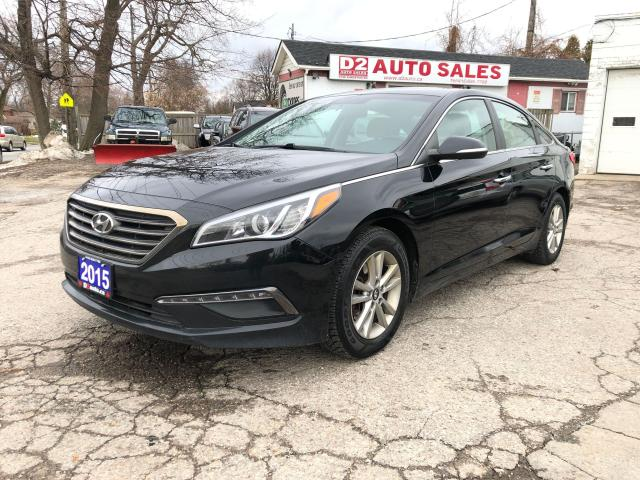 2015 Hyundai Sonata GLS/Accident Free/Automatic/BT/Bckup Cam/Htd Seats