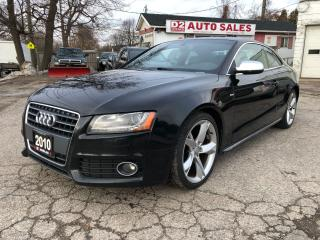 Used 2010 Audi A5 Quattro/S-Line/Automatc/Accident Free/BT for sale in Scarborough, ON