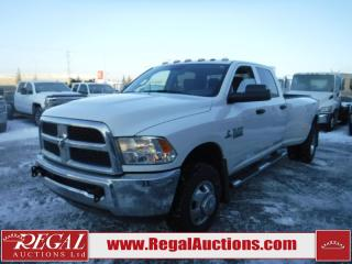 Used 2017 RAM 3500 SXT 4D CREW CAB LWB 4WD 6.7L for sale in Calgary, AB