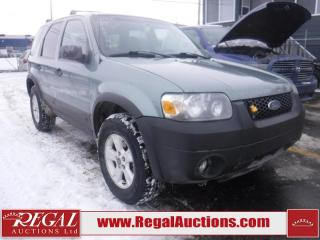 Used 2006 Ford Escape XLT 4D Utility 4WD for sale in Calgary, AB