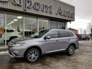 Used 2017 Mitsubishi Outlander GT AWC 4 portes for sale in Alma, QC