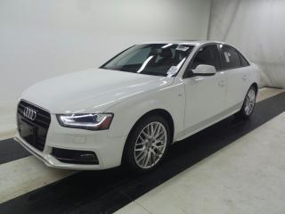 Used 2016 Audi A4 SLine*Leather*Sunroof*AWD*Xenon*ExtraClean*` for sale in Toronto, ON