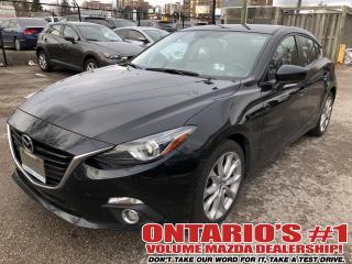 Used 2016 Mazda MAZDA3 NAV,SUNROOF,LEATHER SEATING !!! for sale in Toronto, ON