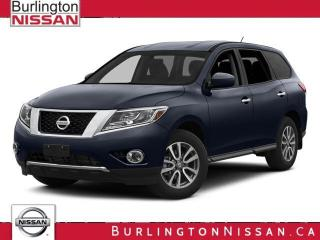 Used 2014 Nissan Pathfinder SL V6 4x4 at for sale in Burlington, ON