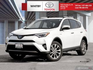 Used 2016 Toyota RAV4 Hybrid Limited for sale in Whitby, ON