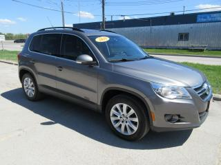 Used 2010 Volkswagen Tiguan 4dr Auto Highline 4Motion for sale in Winnipeg, MB