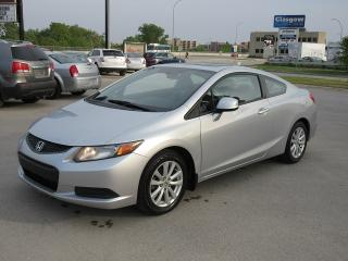 Used 2012 Honda Civic EX - POWER SUNROOF for sale in Winnipeg, MB