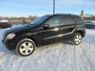 Used 2009 Mercedes-Benz ML-Class 4MATIC 4dr 3.5L for sale in Winnipeg, MB