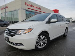 Used 2014 Honda Odyssey 4dr Wgn EX-L w-RES | PUSH START | NAVI | for sale in Brampton, ON