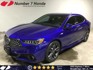 Used 2019 Acura TLX Tech A-Spec| Loaded Options| for sale in Woodbridge, ON