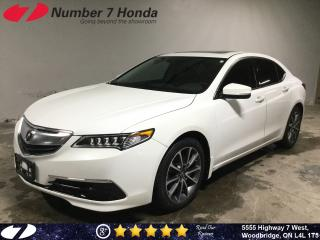 Used 2017 Acura TLX | Navi| Leather| All-Wheel Drive| for sale in Woodbridge, ON