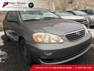 Used 2006 Toyota Corolla | DETAILED | SERVICE HISTORY | FWD for sale in Toronto, ON