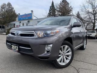 Used 2012 Toyota Highlander HYBRID 4WD 4dr Limited|HYBRID|ONE OWNER|ACCIDENT FREE| for sale in Brampton, ON