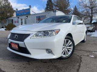 Used 2014 Lexus ES 350 4dr Sdn |ONE OWNER|ACCIDENT FREE|HIGHWAY KMS| for sale in Brampton, ON