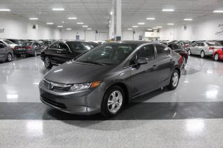 Used 2012 Honda Civic LX I POWER OPTIONS I KEYLESS ENTRY I CRUISE I BT for sale in Mississauga, ON