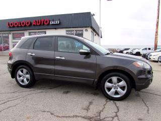 Used 2009 Acura RDX TURBO AWD AUTO LEATHER AUTOMATIC CERTIFIED for sale in Milton, ON