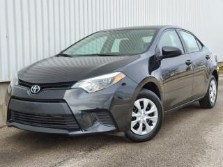 Used 2016 Toyota Corolla ACCIDENT FREE|FINANCING AVAILABLE!! for sale in Mississauga, ON