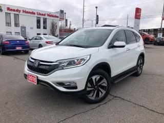 Used 2016 Honda CR-V Touring for sale in Mississauga, ON