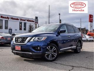 Used 2017 Nissan Pathfinder Platinum - Navigation - Headrest DVD - Pano Roof for sale in Mississauga, ON