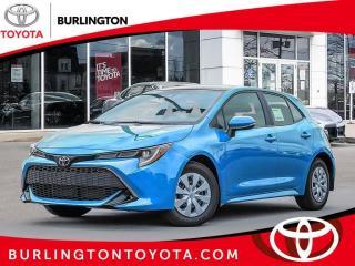 New 2020 Toyota Corolla Hatchback CVT for sale in Burlington, ON