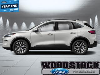 New 2020 Ford Escape Titanium Hybrid 4WD for sale in Woodstock, ON