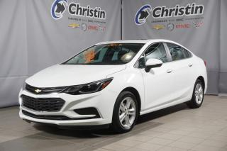 Used 2017 Chevrolet Cruze LT SUNROOF DEM A DISTANCE SIEGE CHAUFFANT for sale in Montréal, QC