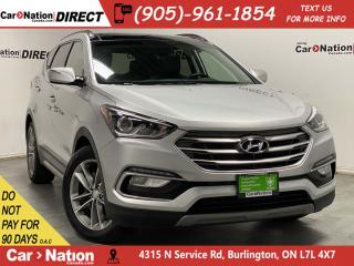 Used 2018 Hyundai Santa Fe Sport 2.0T SE| AWD| LEATHER| PANO ROOF| for sale in Burlington, ON