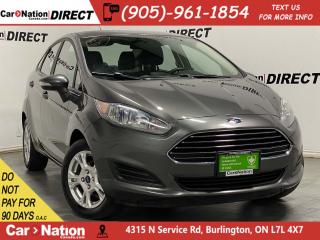 Used 2015 Ford Fiesta SE| HEATED SEATS| BLUETOOTH| ALLOYS| for sale in Burlington, ON