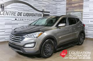 Used 2015 Hyundai Santa Fe Sport Limited+TOIT+MAGS+GPS for sale in Laval, QC