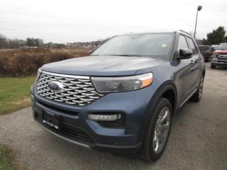 New 2020 Ford Explorer Platinum for sale in Tillsonburg, ON