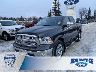 Used 2017 RAM 1500 Laramie Leather Heated / Cooled Seats for sale in Calgary, AB