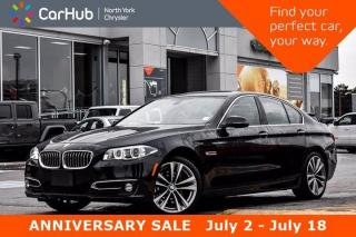 Used 2016 BMW 5 Series 535i xDrive Luxury Line Connect Drive Service Packages Heads Up Display for sale in Thornhill, ON