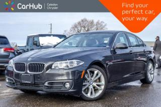 Used 2015 BMW 5 Series 535i xDrive|Navi|Sunroof|Backup Cam|Bluetooth|Leather|Heated front Seats|19