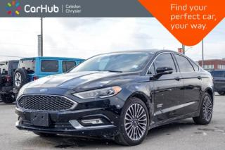 Used 2018 Ford Fusion Energi Platinum|Navi|Sunroof|Bluetooth|Heat and Cool Front Seats|Blind Spot|R-Start|18