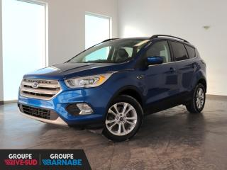 Used 2018 Ford Escape SEL AWD CUIR + ECRAN/CAMERA+++ for sale in St-Jean-Sur-Richelieu, QC