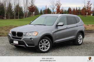 Used 2013 BMW X3 xDrive28i LOCAL BC UNIT! for sale in Langley City, BC