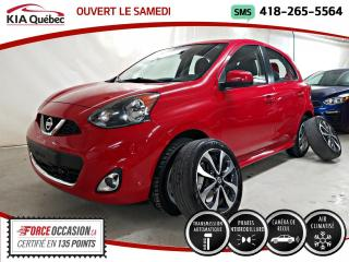 Used 2017 Nissan Micra SR* AUTOMATIQUE* CAMERA* A/C* for sale in Québec, QC