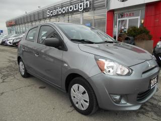 Used 2015 Mitsubishi Mirage 4dr HB CVT ES for sale in Scarborough, ON