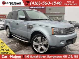Used 2011 Land Rover Range Rover Sport SC | 4WD | NAVI | H/K RADIO | CAM | LEATHER |LOWKM for sale in Georgetown, ON