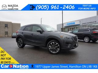 Used 2016 Mazda CX-5 GT | SUNROOF | LEATHER | NAV | BOSE | B/U CAM |AWD for sale in Hamilton, ON