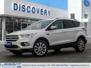 Used 2017 Ford Escape Titanium for sale in Burlington, ON