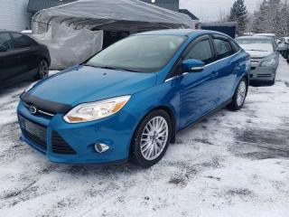 Used 2012 Ford Focus 4DR SDN SEL for sale in Lemoyne, QC