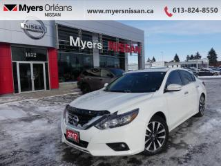 Used 2017 Nissan Altima 2.5 SL  - Sunroof -  Navigation - $158 B/W for sale in Orleans, ON